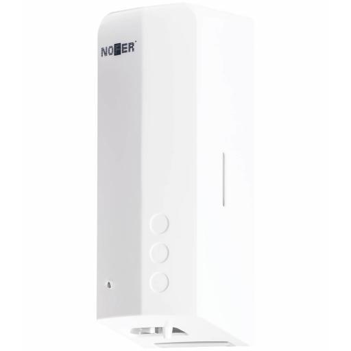 EVO FUGA touch free hand sanitizer dispenser in white. 1000ml