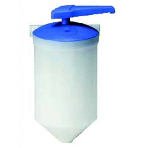 Wall mounted manual soap dispenser 1500ml