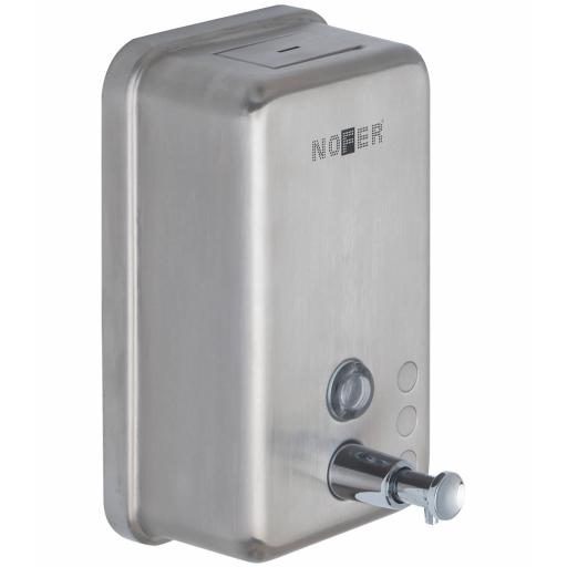 Manual wall mounted soap disenser 1200ml in stainless steel satin matt