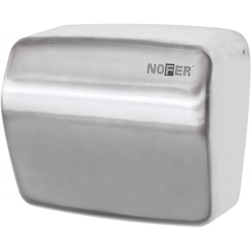 KAI series automatic wall hand dryer with a satin matt finish