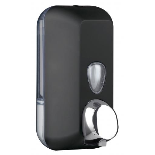 BLACK series wall soap dispenser 500ml