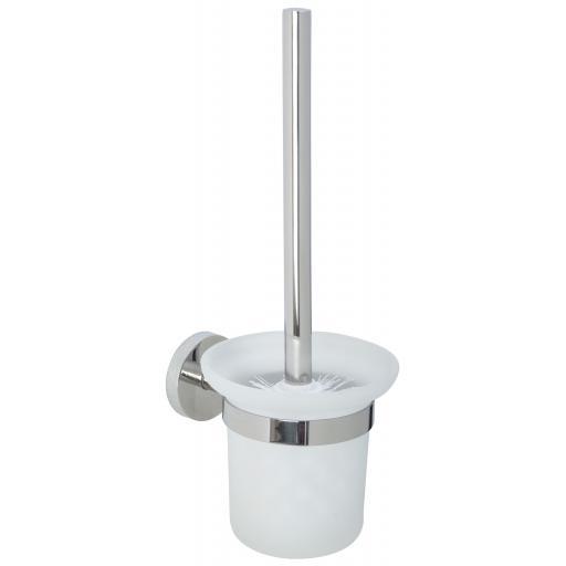 NIZA polished series toilet brush holder
