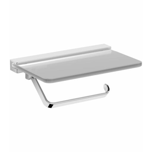 SANTORINI series toilet roll holder with shelf