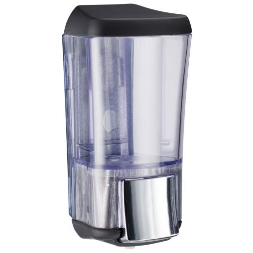 BLACK series wall soap dispenser 170ml