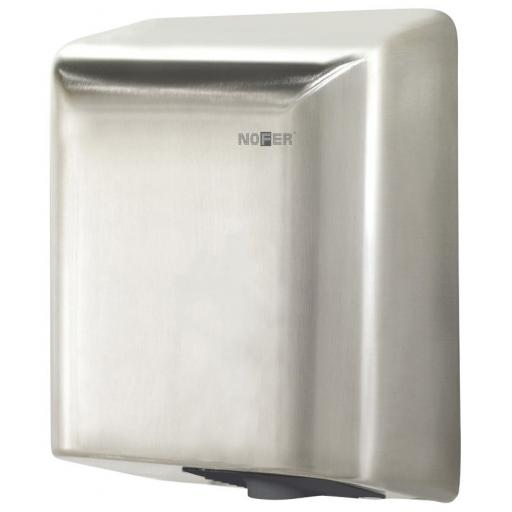 FUGA hand dryer with a satin matt finish