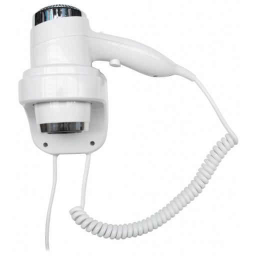 Hotel Line hair dryer 2 speed with wall support