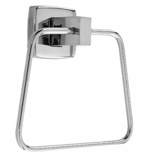 CLASSIC series towel ring & satin matt finish