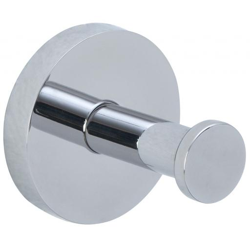 NIZA polished series wall hook stainless steel