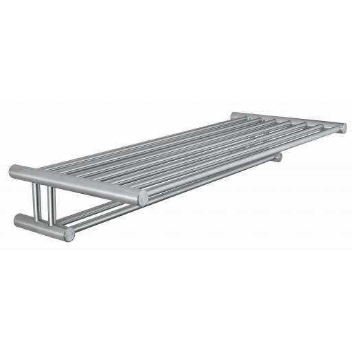 ROMA series towel rail with shelf