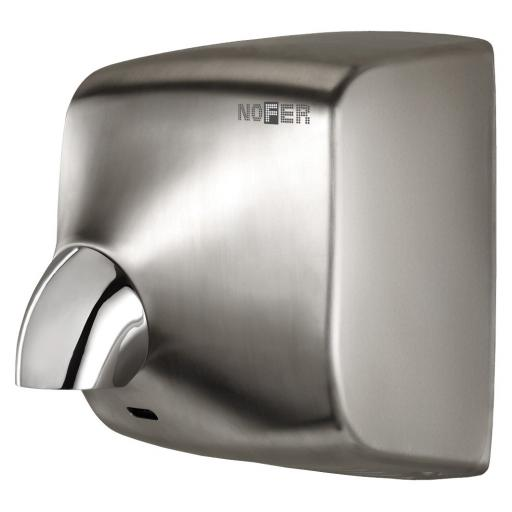 WINDFLOW automatic wall hand dryer with satin finish