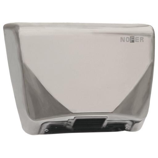 THIN series automatic wall hand dryer with a satin matt finish