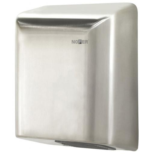 BIGFLOW automatic hand dryer with a satin matt finish