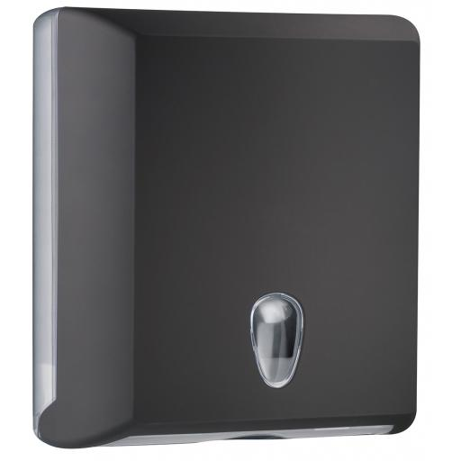 BLACK series bulkpack toilet paper dispenser