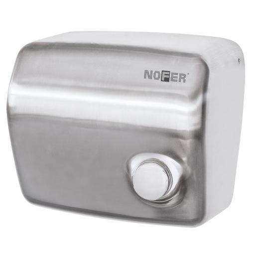 KAI series manual wall hand dryer with a satin matt finish