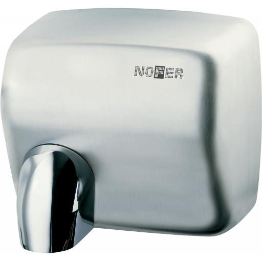 CYCLON automatic wall hand dryer with a satin matt finish