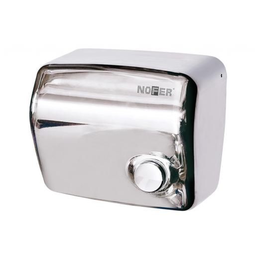 KAI series manual wall hand dryer with a polished finish