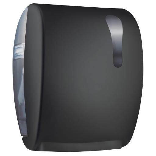 BLACK series automatic hand towel dispenser with automatic cutter