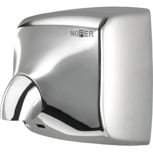 WINDFLOW automatic wall hand dryer with polished finish