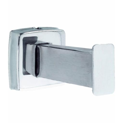 CLASSIC series extended robe hook with a satin matt finish