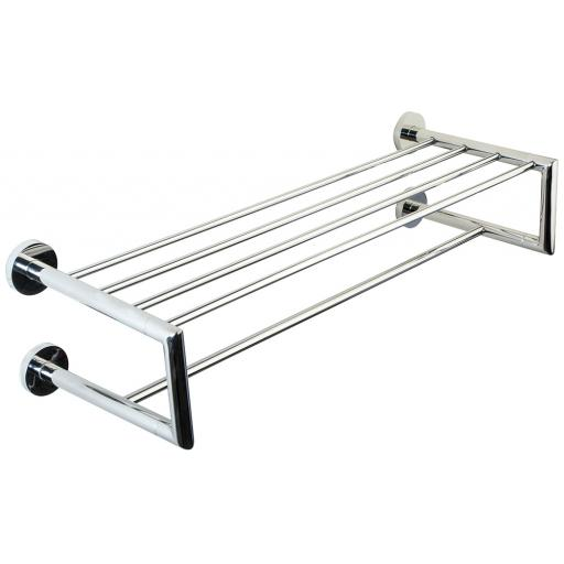 NIZA polished series double towel rail