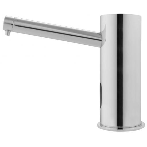 Airtap automatic counter top soap dispensesr, chromed brass finish