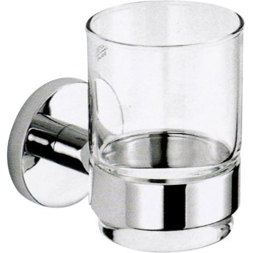 SIENA series glass tumbler with wall bracket