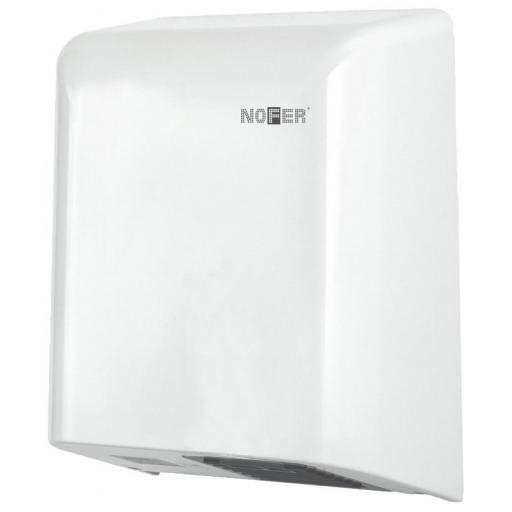 BIGFLOW automatic hand dryer with a white ABS cover