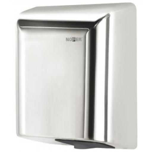 FUGA hand dryer with a polished finish