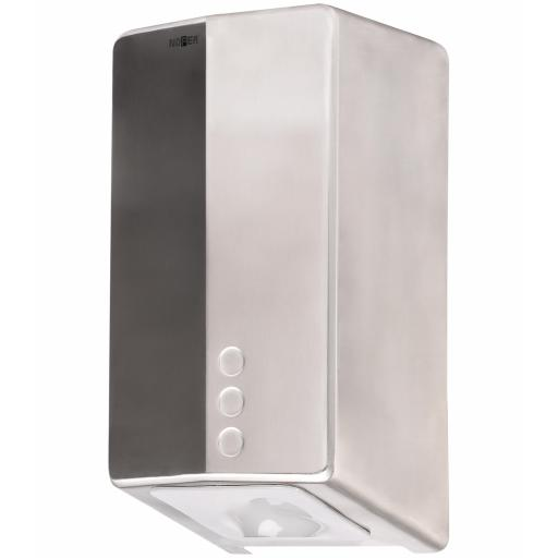 EVO FUGA hand dryer with UVC and HEPA filter