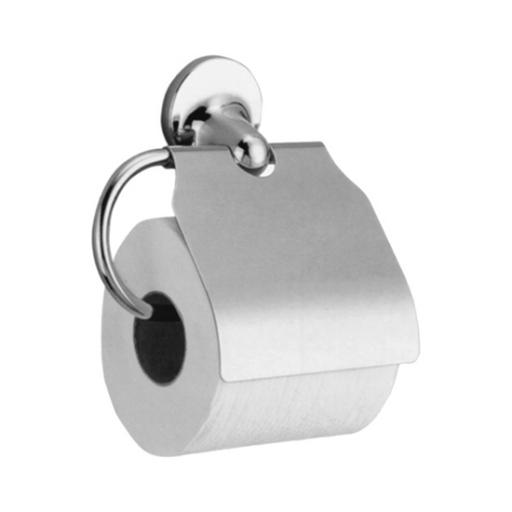 HOTEL series toilet roll holder with cover