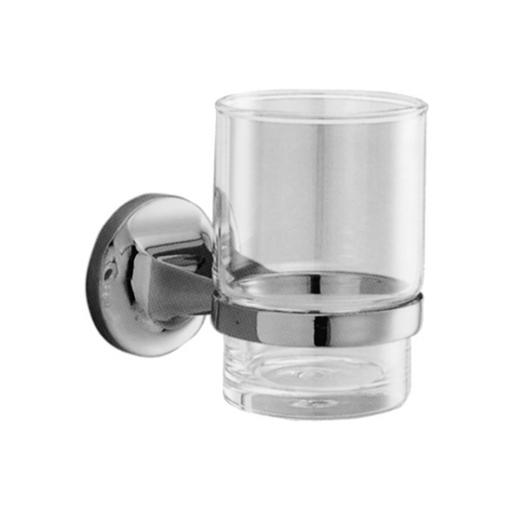 HOTEL series glass tumbler and wall support