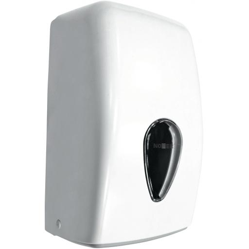 WICK center-pull mini paper towel dispener ABS white
