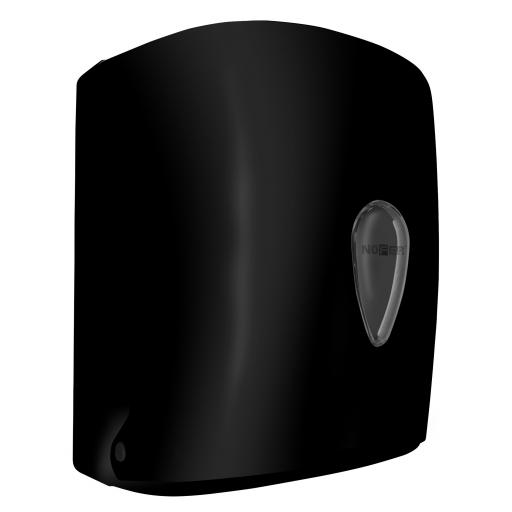 WICK center-pull paper towel dispener ABS black