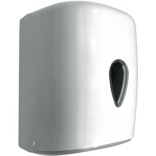 WICK center-pull paper towel dispener ABS white