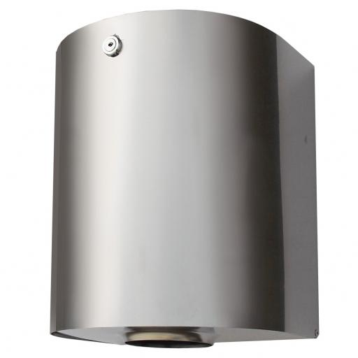 WICK center-pull paper towel dispener in stainless steel with satin finish