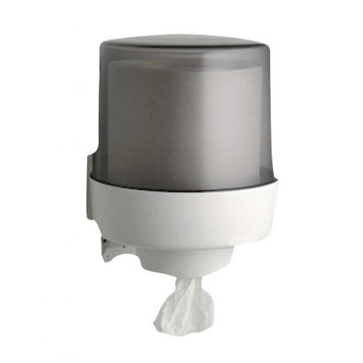 Center-pull paper towel dispener polypropylene
