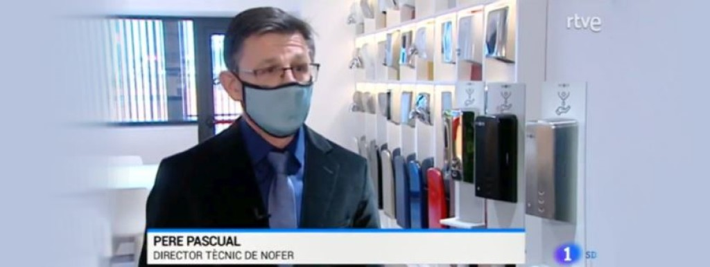 NOFER report on the local news channel TVE Catalonia