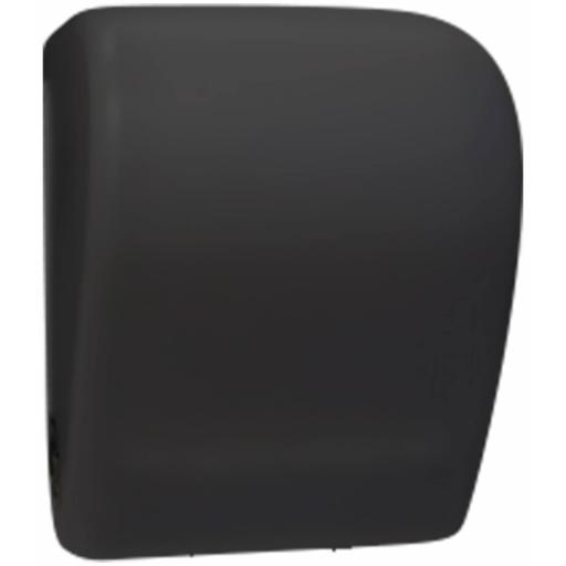 BLACK paper towel dispenser with automatic feed and cut